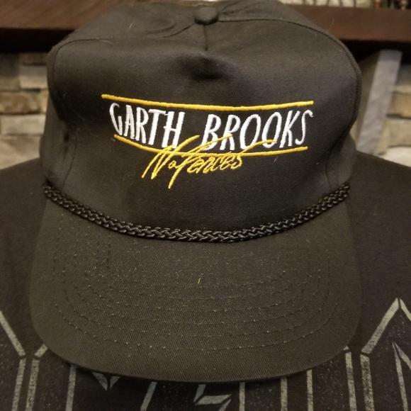 11a547f9 sportsman Accessories | Vintage Garth Brooks No Fences Cap 90s Tour ...